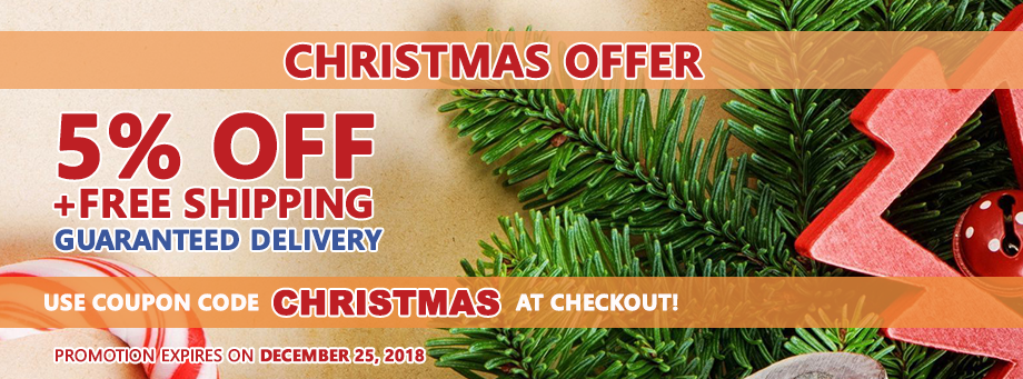 Christmas 5% Discount
